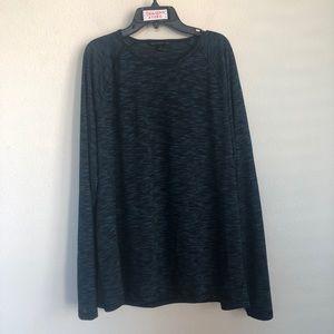 John Varvatos USA Heather Long Sleeve Tee T Shirt